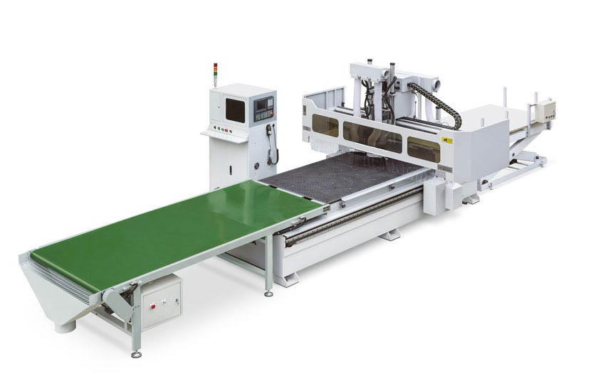 Automatic Loading and Unloading CNC Cutting Center